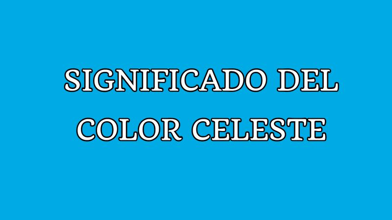 significado del color celeste