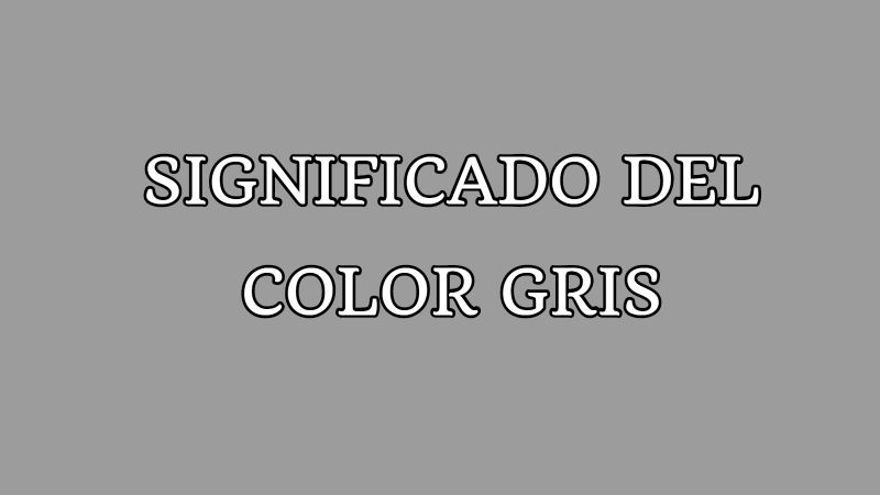 significado del color gris
