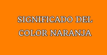 Significado del color naranja